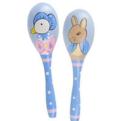 Jemima Puddle-Duck & Peter Rabbit Maraca Set
