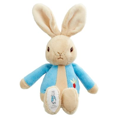 Peter Rabbit Bean Rattle