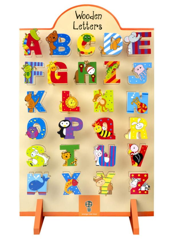 Alphabet Letter Stand