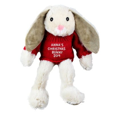 Personalised Christmas Bunny
