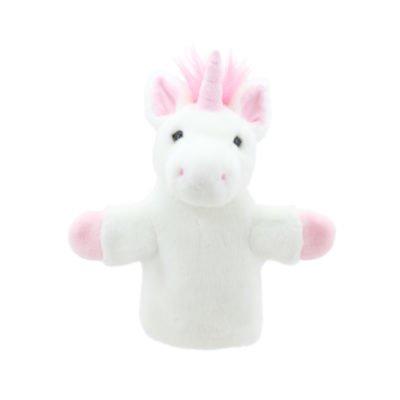 Pink Unicorn Hand Puppet