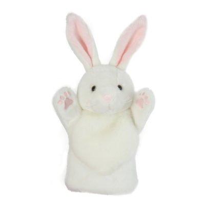 White Rabbit Hand Puppet