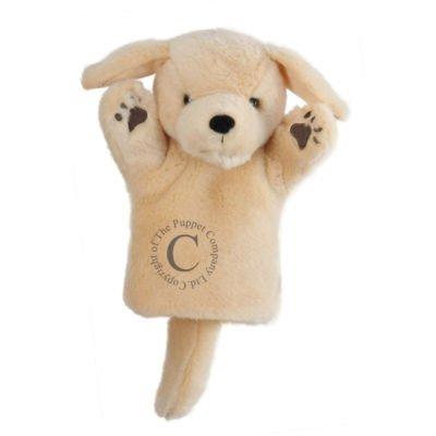 Golden Labrador Hand Puppet
