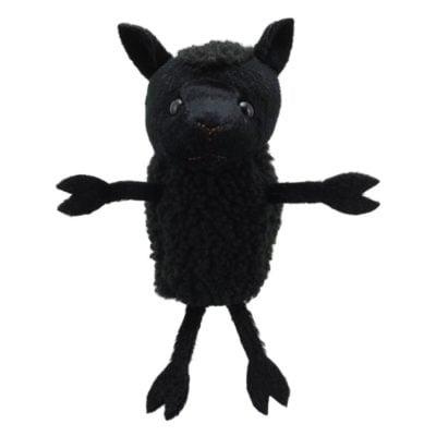 Black Sheep Finger Puppet