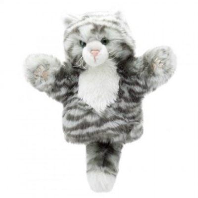 Tabby Cat Hand Puppet