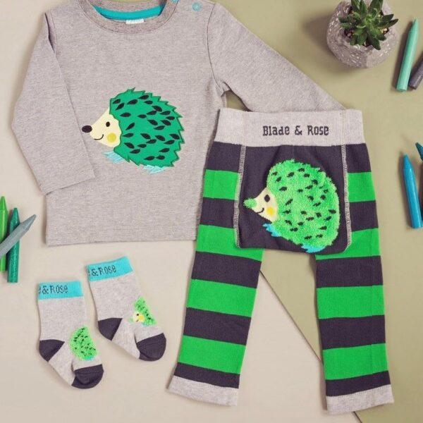 hedgehog leggings top