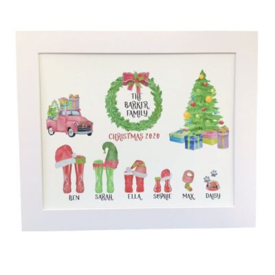 Christmas Personalised Family Portraits