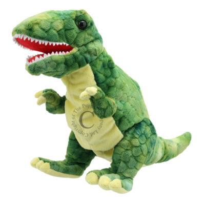 T Rex Hand Puppet – Green